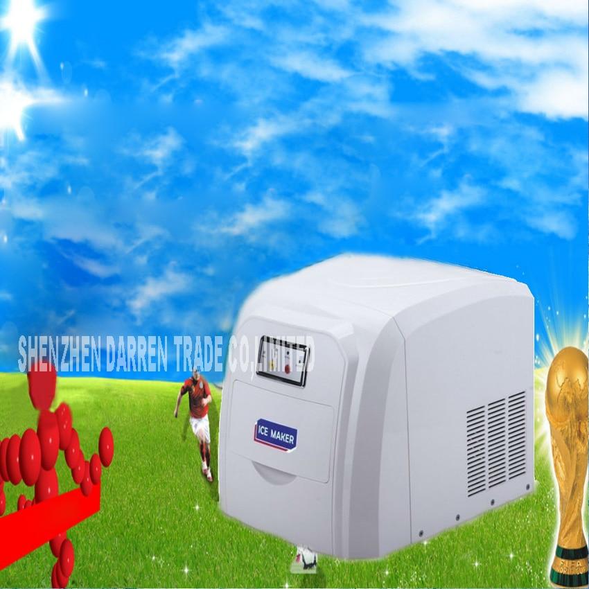 Kühlschränke Und Gefriergeräte Zb-09 Eismaschine 15 Kg Haushalts Kleinen Eismaschine 0,8 Kg Eisspeicher Kapazität Eismaschine Smoothie Maschine 220 V 105 Watt 12-15 Kg/24 H Haushaltsgeräte