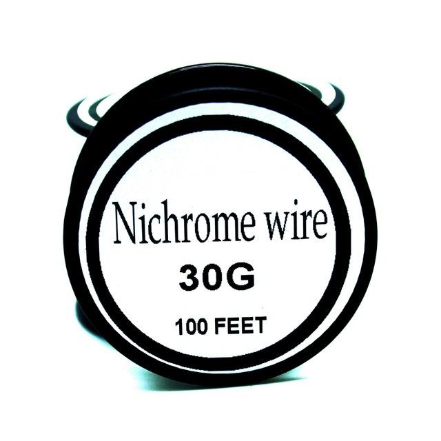 Nichrome wire 30Gauge 100 FT (0.45oz) 0.25mm Resistance