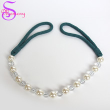 NEW DIY Curtain Holders Tieback Clips Hanging Ball Pearl Beads Buckle Tie Back Straps Accessories Home Decoration