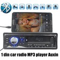 best selling 12V 1 DIN remote control Car Audio Car Radio Stereo Player support Bluetooth AUXIN/FM/USB/SD