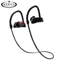 SERVO U12 Wireless Bluetooth Earphone Sport Bluetooth Headset Ear Hook Headphones Ear Hook With Microphone CSR