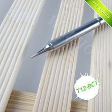 3 pcs/T12-BC1 ILS KU BL JL02 K punte di ferro di Saldatura con qualità eccellente T12Welding testa per tutti i T12 serie stazione di saldatura