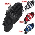 Road racing guantes guantes de moto de cuero real pk knox guantes moto guantes talla m/l/xl