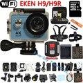 Câmera ação Original Eken H9R/H9 4 K 25fps WiFi camera Action Sports Helmet Cam Video pro Subaquática ir Esporte Câmera à prova d' água