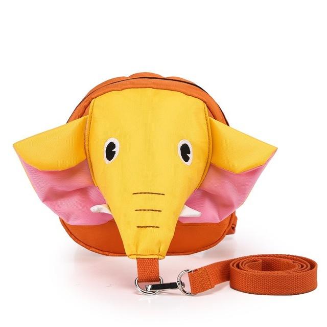 Hot vender crianças elphent ajustable animal dos desenhos animados saco anti perdido mochila troddler para linda criança e do bebê meninas e meninos