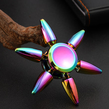 Fidget Hand Spinner EDC Hand Spinners Autism ADHD Kids Gifts Colorful Metal Finger Toys Spinners Focus Relieves Stress Adhd E silver black finger spinner fidget edc hand for autism adhd anxiety stress relief focus toys gift 2017 hot selling
