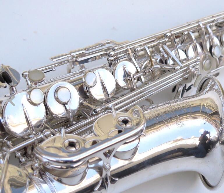 Amazing New 1958 Selme Mark VI alto saxophone Silver Plated .99% same original silver .Pro overhaul.replica недорго, оригинальная цена