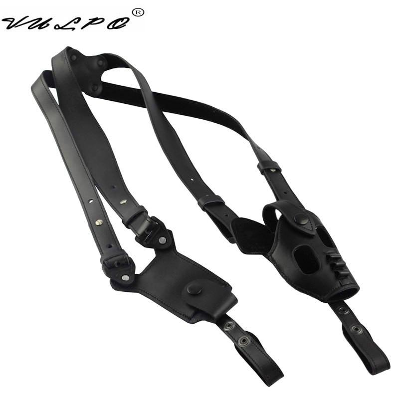 VULPO Hunting Accessories Tactical Leather Shoulder Pistol Holster For PPK/PPKS Series