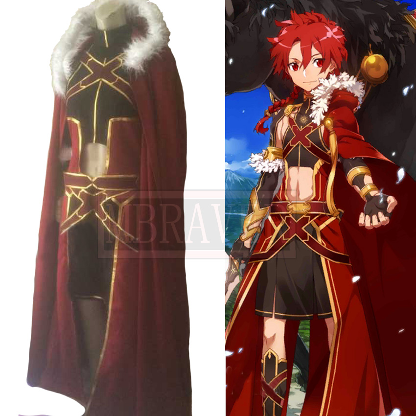 Japanese Game Fate/Grand Order FGO Alexander/Alexander the Great Uniformen Cos Clothes Customized Free Shipping