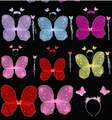 Newest Butterfly Wings for Kids Girls Party Fancy Costume Props Accessories Four Colors