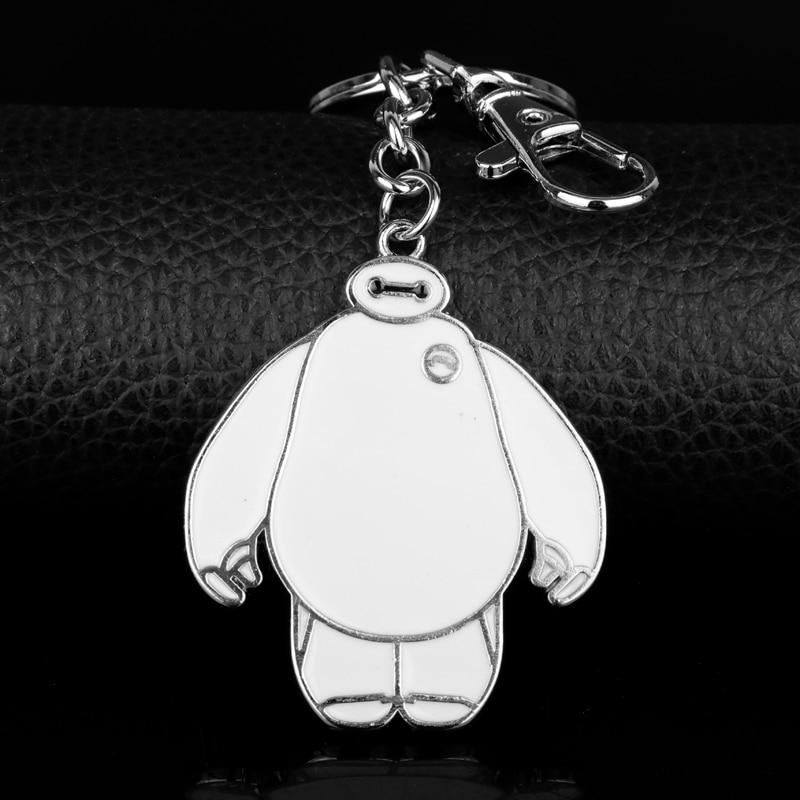 Big Hero 6 Baymax Keychain Metal US Seller Charm pendant key chain collectible 1