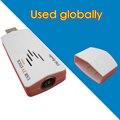 Adaptador USB 2.0 TV Vara caixa de TV Receptor Sintonizador de satélite RECEPTOR USB de TV ANALÓGICA Em Todo O Mundo Analógico para Netbook Notebook PC Laptop