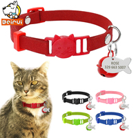 custom-cat-kitten-collar-soft-quick-release-personalised-collars-engraving-fish-tag-with-bell-for-small-medium-cat-dogs-puppy