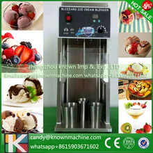 Stainless steel delicious nut yogurt kinds of Fresh Fruit Ice Cream Mixer blender making Machine