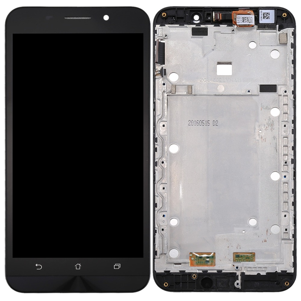iPartsBuy New LCD Screen and Digitizer Full Assembly with Frame for Asus ZenFone Max / ZC550KL / Z010DAiPartsBuy New LCD Screen and Digitizer Full Assembly with Frame for Asus ZenFone Max / ZC550KL / Z010DA