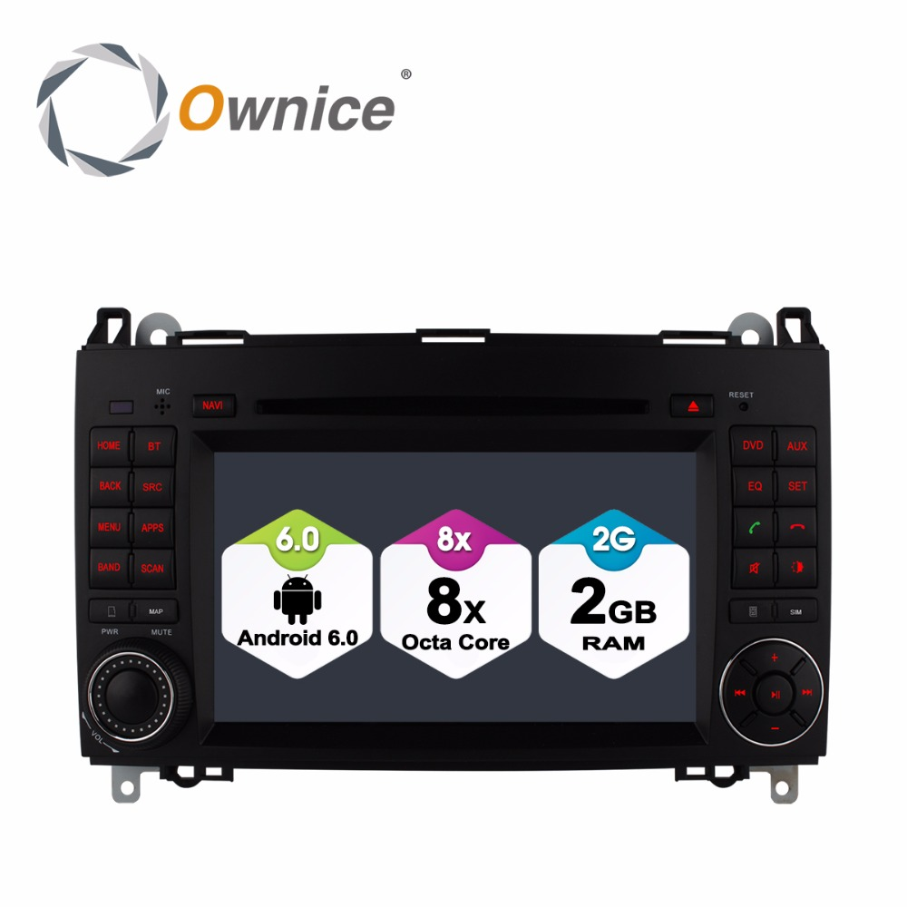 Android 6.0 Car DVD Player for Mercedes Benz B200 W169 A160 Viano Vito GPS Radio DAB Ste ...