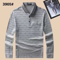 2017 Autumn Winter Mens Polo Shirt Long Sleeve Brand Men Shirt Clothing With High Quality Cotton