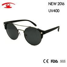 New 2016 Round Men Women Retro Vintage Sunglasses Brand Designer Sun Glasses Fashion Oculos De Sol Sun Glasses UV400 Goggles