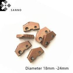 CNC pala diámetro de inserción de perforación 18mm-24mm insertos de índice T-A insertos de perforación calidad como máquina aliada e ingeniería