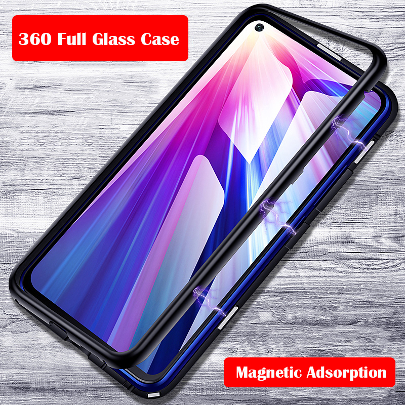 360 Full Magnetic Phone Case For Huawei P20 Pro P10 Mate 10 Nove 3 3I Y9