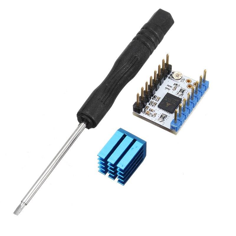 TMC2130 Stepper Motor Driver Module Heat Sink Screwdriver for 3D Printer Part