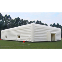 Giant PVC tarpaulin outdoor inflatable church tents,inflatable marquee,inflatable wedding party tent for sale