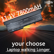 HSW 7800mAh Notebook For Dell Vostro 1310 Battery 1320 1520 1510 T114C T112C 0N241H 312-0724 451-10655 K738H N950C U661H bateria hsw 11 1v 48wh battery for dell 04nw9 05g67c 312 1163 312 1311 451 11694 notebook battery 8858x 8p3yx 911md hcjwt kj321 akku