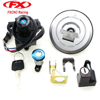 Motorcycle Ignition Switch Lock Fuel Gas Cap Lock Helmet Lock And Seat Lock With Keys For Honda CBR250 CBR 250 2011 2013 11 12