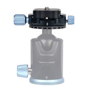 Image 3 - Andoer PAN C1 パノラマ雲台ボールヘッドのクイックリリースプレートとクランプアダプタアルカスイス標準として QR プレート