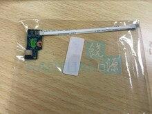 Placa nova genuína do botão de alimentação com substituição do cabo para hp pavilion 15 r 15 s 15 g15 g019wm 749650 001 LS A991P