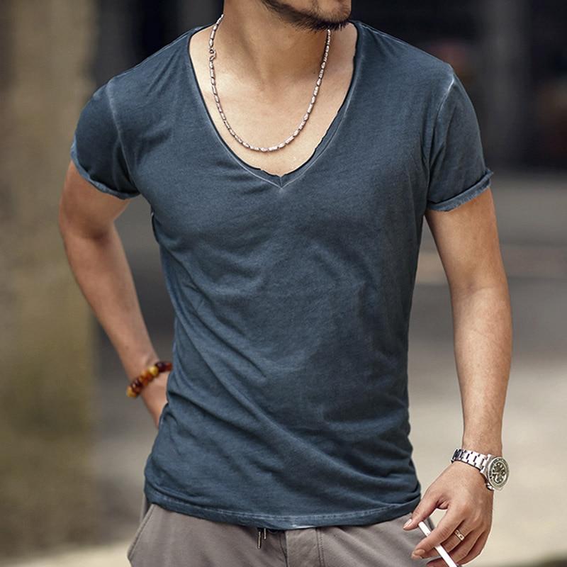 Camiseta Hombre Marca Vintage retro camiseta Hombre Sólido Casual - Ropa de hombre - foto 1