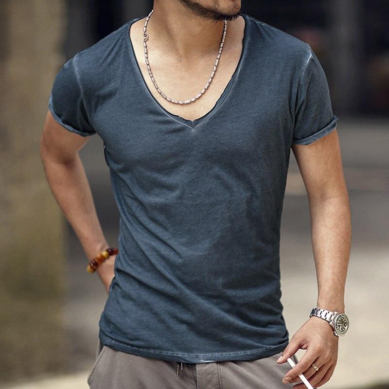 T-Shirt Männer Marke Vintage retro t-shirt Männer Feste Beiläufige - Herrenbekleidung