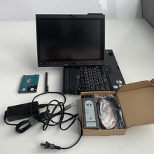 Профессиональный автомобильный диагностический инструмент беспроводной OKI VAS 6154 полный чип Odis V5.13 E/LSAwin с используемым ноутбуком X200T автоматический сканер