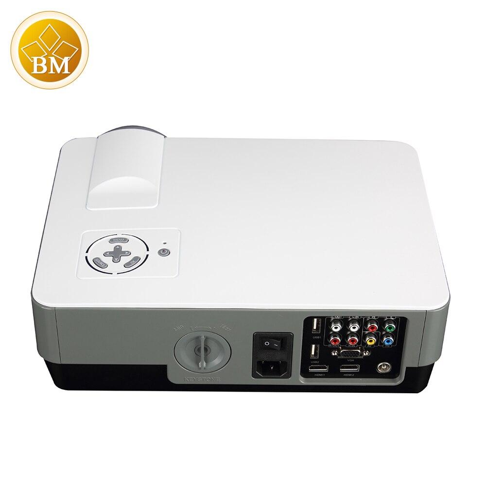 2000 Lumens Full Hd 1080p Led Lcd 3d Vga Hdmi Tv Home: Full HD 2000 Lumens Support TV Video Games Home Cinema