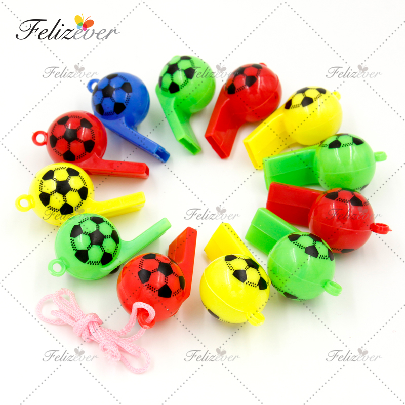 Image 2 - 12 PCS Soccer Football Party Favors Whistles Pack Sports Party  Favor box Party Gifts Easter Basket Filler Prize boys partyparty birthdayparty favorsparty boy -