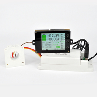 2.4 inch color screen wireless voltage ammeter temperature Coulomb capacity power meter battery management system