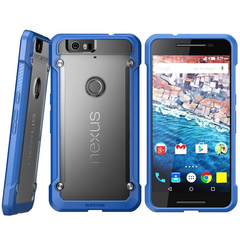 Image 4 - For Google Nexus 6P Case 5.7 inch (2015 Release) SUPCASE UB Series Premium Hybrid TPU Bumper + PC Back Case Protective Cover-in Fitted Cases from Cellphones & Telecommunications