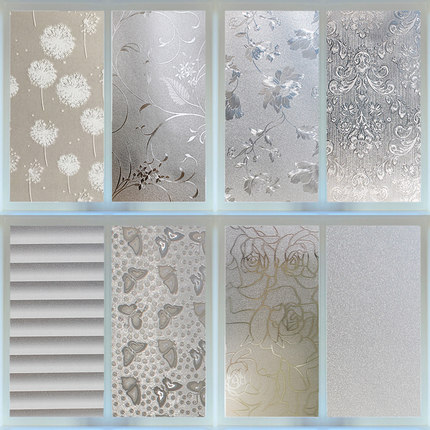 45 300 Cm Stained Frosted Window Films Vinyl Crystal