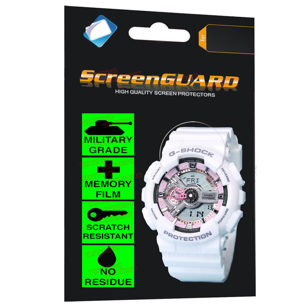 Multifunctional Anti Shock Military Grade Film for Casio Watch G Shock Analogue Digital LED Sports Tactical Military Stopwatch in Screen Protectors from Consumer Electronics