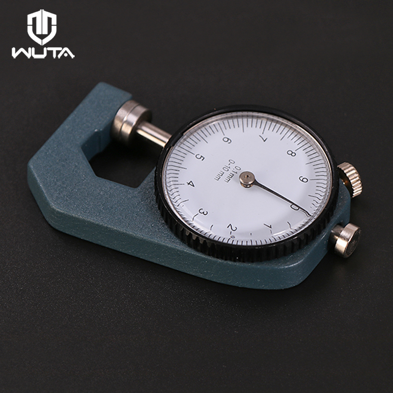 WUTA 0-10mm//0.1mm Dial Leather Thickness Gauge Paper Meter Tester for Hollow Pipe or Circular Tube Caliper Gauge Measuring Tools
