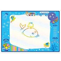 Novo Brinquedo de Arte e Artesanato Para Crianças que Tiram A Água Pintura Escrever Mat Board Magia Caneta Doodle Presente 100 cm X 70 cm Do Aqua Doodle