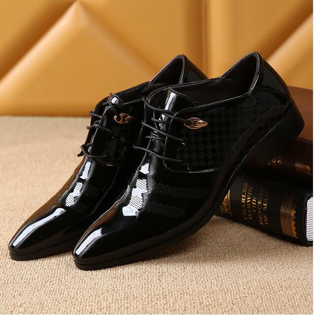 528a4c91bf Akexiya 2017 Office Men Dress Shoes Italian Wedding Man Casual Shoes ...