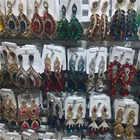 12 pares de lotes mixtos de pendientes de cristal de declaración de boda para mujer, pendientes colgantes de diamantes de imitación para fiesta, joyería al por mayor