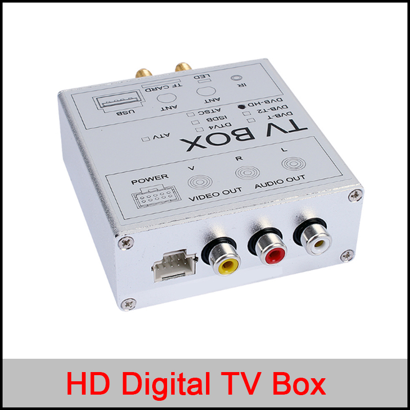 HD Digital TV/DTV box for car DVD gps player,ATSC/DVB-T/ISDB external TV box for car DVD GPS PLAYER Wince and Android OS android box iptv stalker middleware ipremuim i9pro stc digital connector support dvb s2 dvb t2 cable isdb t iptv android tv box