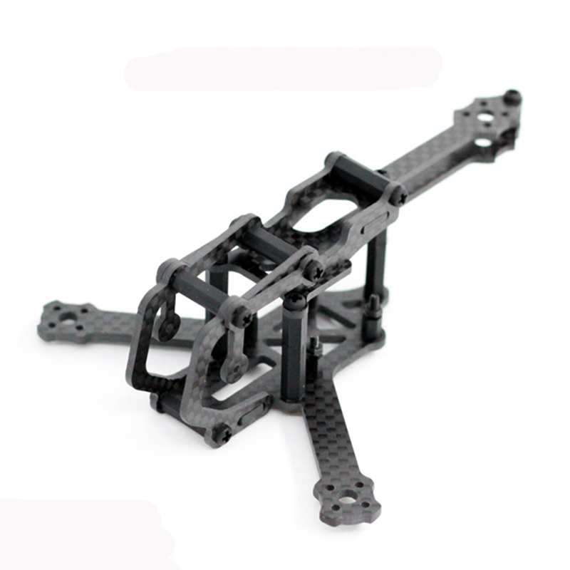 A-max Cerberus Y4 110mm Wheelbase 2.5mm Arm FPV Racing Frame Kit supports Micro Runcam Swift Action Camera for RC Racer Drone generic v max max z swift 6020 canopy red