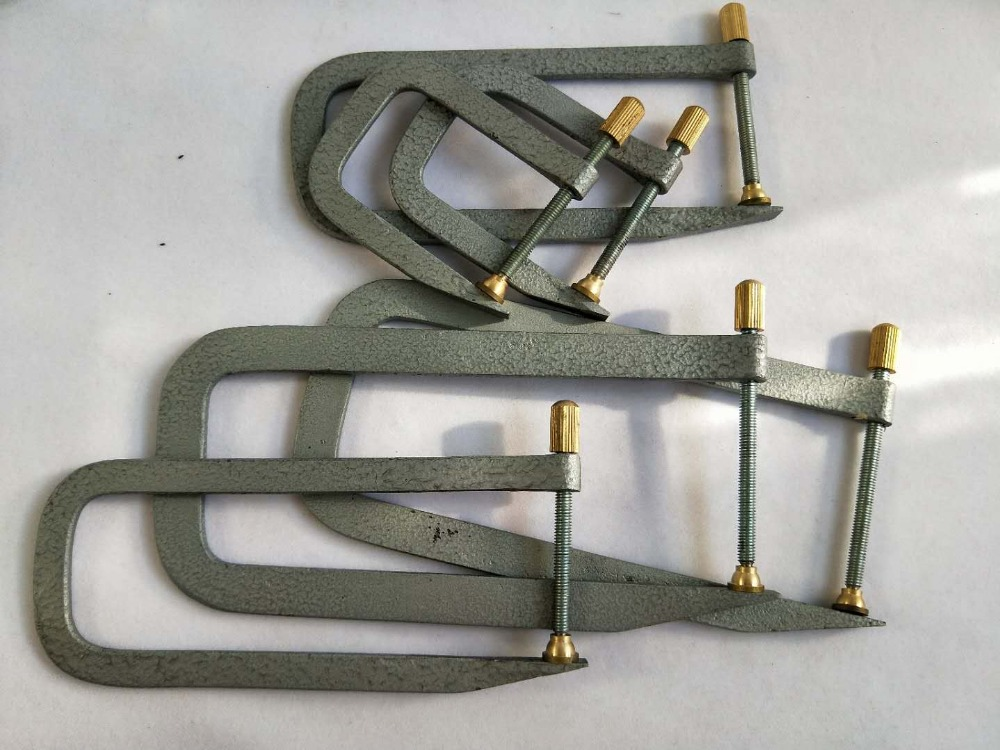 все цены на 1 set Violin making tool Violin bass bar clamps including 6 pcs clamps