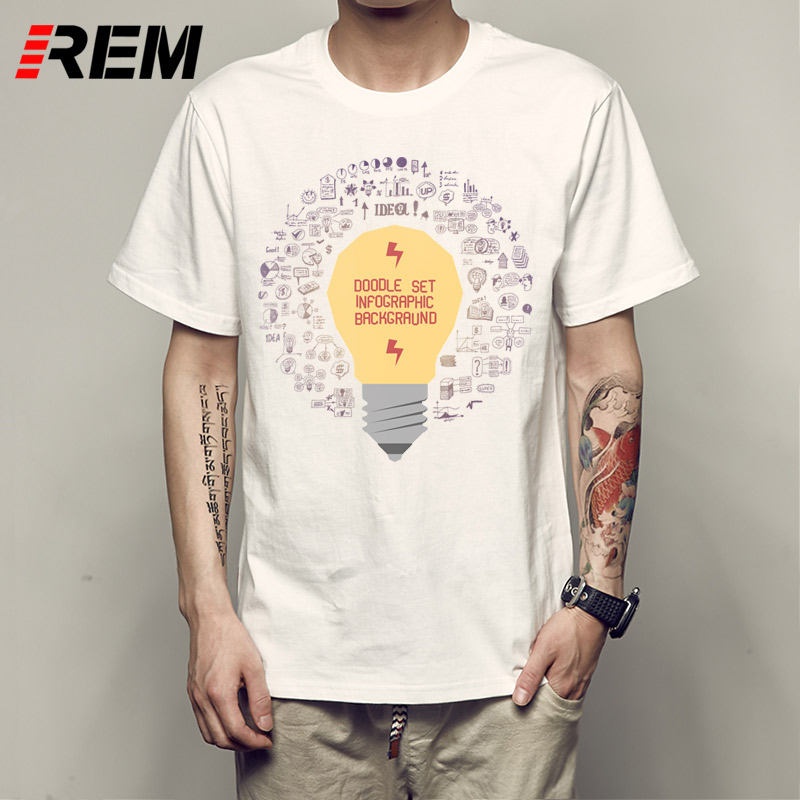 REM Funny T Shirt Ideas Gildan Men'S O Neck Design Short