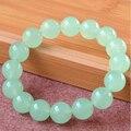 Natura Blue Chalcedony Jade Bead Bracelet Wholesale Beautiful Color Original