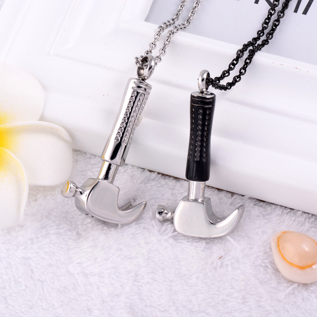 Hammer Urn Necklace