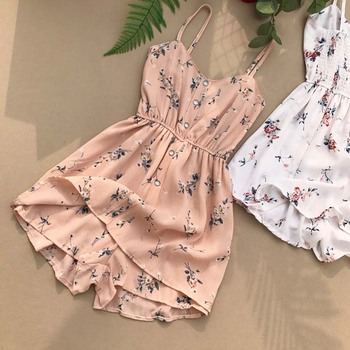 Fashion Elegant Halter Bodycon Short Jumpsuit Bodysuit Women Summer Casual Blue Playsuits Female Sexy Off Shoulder Party Romper sleeveless floral jumpsuit women beach playsuits summer one shoulder hollow out overalls casual short jumpsuit sexy bodycon